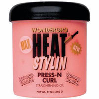 Wonder Gro Heat Styling Press-N- Curl 12 oz. (Pack of 6)