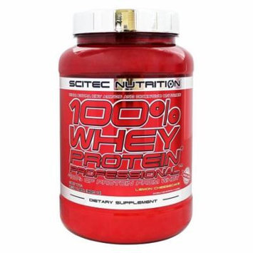 Scitec Nutrition - 100% Whey Protein Professional Lemon Cheesecake - 2.03 lbs.
