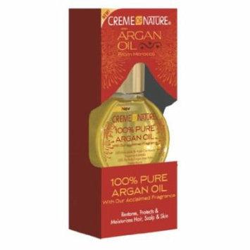 Cream of Nature 100% Pure Argan Oil - Pure 1 oz. (Pack of 6)