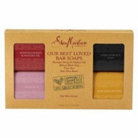 SheaMoisture Our Best Loved Bar Soaps 4-Count