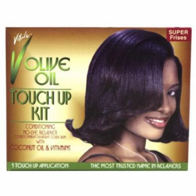 Vitale Olive Oil Touch Up Relaxer - Super Kit (Pack of 2)
