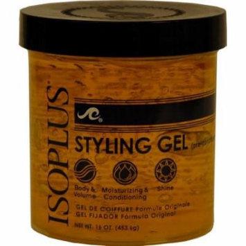 Isoplus Styling Gel - Light 16 oz. (Pack of 6)