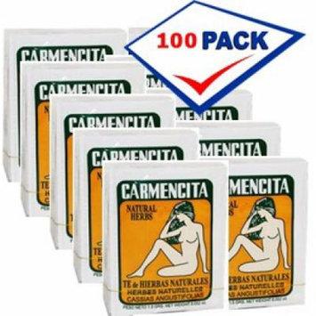 Carmencita natural herbs tea. 100 Individual Tea Bags 1.5 Grs