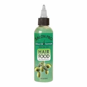 Salon Pro Hair Food - Olive 4 oz. (Pack of 6)