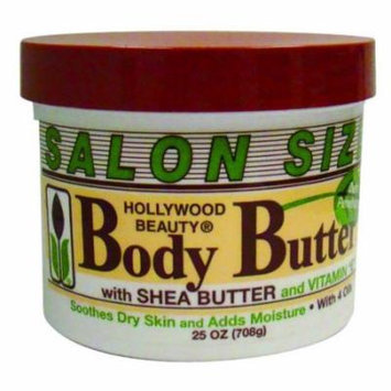 Hollywood Body Butter Cream 25 oz. (Pack of 2)
