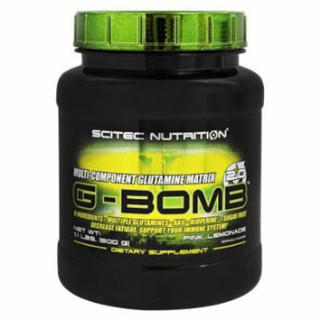 Scitec Nutrition - G-Bomb 2.0 Multi-Component Glutamine Matrix Pink Lemonade - 1.1 lb.