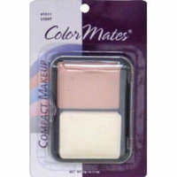 Color Mates Pressed Powder Light 0.17 oz. (4-Pack)