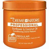 Cream of Nature Organic No Base Relaxer 15 oz. - Regular 15 oz. (Pack of 6)