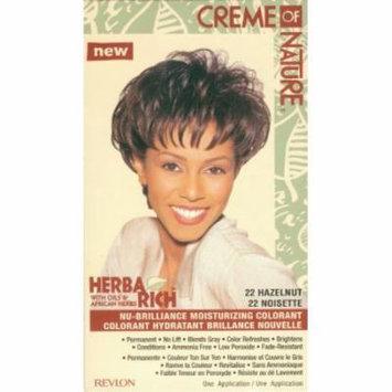 Cream of Nature Hair 22 Hair Color - Hazelnut Kit (Pack of 6)