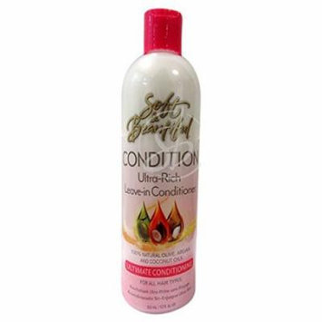 Soft & Beautiful Ultra Rich Leave In Conditioner 12 oz. (Pack of 2)