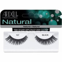 Ardell Fashion Lashes False Eyelashes - #107 Black (Pack of 4)