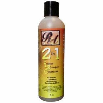RA Cosmetics 2-in-1 Shampoo 8 oz. (Pack of 6)