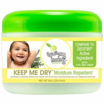 Love My Baby Keep Me Dry 8 oz. (Pack of 6)