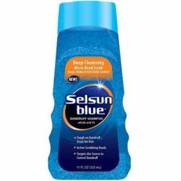 Selsun Blue Dandruff Shampoo 11 oz. Deep Clean (Pack of 4)