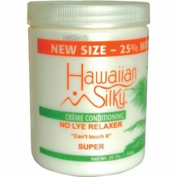 Hawaiian Silky No-Lye Relaxer - Super Bonus 20 oz. (Pack of 2)
