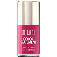 Milani Color Statement Nail Lacquer - 09 Hot Pink Rage (Pack of 3)
