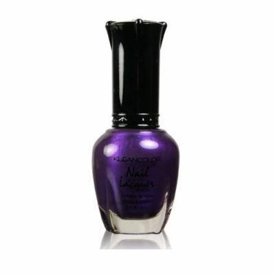 Kleancolor Nail Polish - #86 Purple Velvet (Pack of 2)