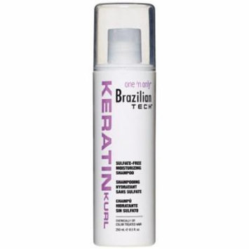 One N' Only Brazilian Tech Sulfate-Free Shampoo 8.5 oz. (Pack of 6)