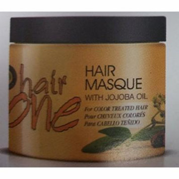 Hair One Hair Masque for Color Treated Hair with Jojoba Oil 8 oz. (Pack of 2)