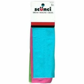 Scunci Headwraps Interlock 5 Pieces (3-Pack)