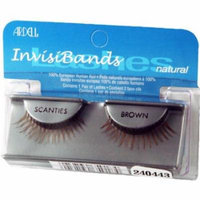 Ardell Invisibands False Eyelashes - Scanties Brown (Pack of 6)