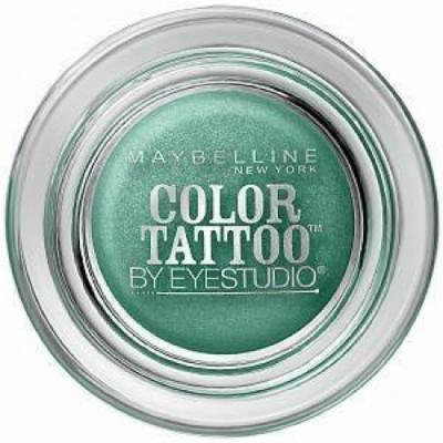 Maybelline Color Tattoo Eyeshadow Edgy Emerald (Pack of 2)