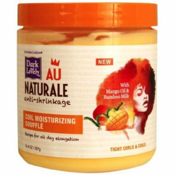 Dark & Lovely Au Natural Coil Moisturizing Souffle 14 oz. (Pack of 6)