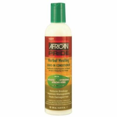 African Pride Herbal Healing Leave-In Conditioner 8.45 oz. (Pack of 2)