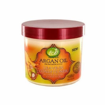 TCB Naturals Argan Oil Leave In Conditioner 12 oz. (Pack of 4)