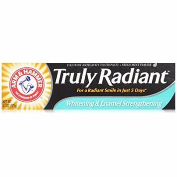 ARM & Hammer Truly Radiant Toothpaste 4.3 Oz (4 Pack)
