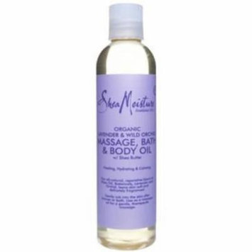 SheaMoisture Organic Lavender & Wild Orchid Massage, Bath & Body Oil