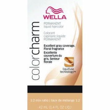 Wella Color Charm Liquid Permanent Hair Color - #211 - Very Dark Brown 1.42 oz. (Pack of 6)