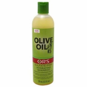 Ors Hydrating Shampoo Olive Oil Sulfate-Free 12.5oz (6 Pack)