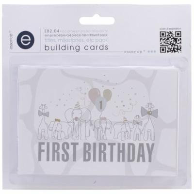 Empire Bebe Building Cards 54/Pkg-Titles & Timelines