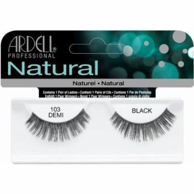 Ardell Fashion Lashes False Eyelashes - #103 Black (Pack of 4)