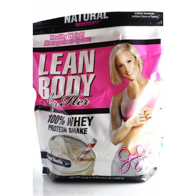 Labrada Nutrition Jamie Eason Lean Body for Her Whey Protein, Natural Vanilla, 4 Servings