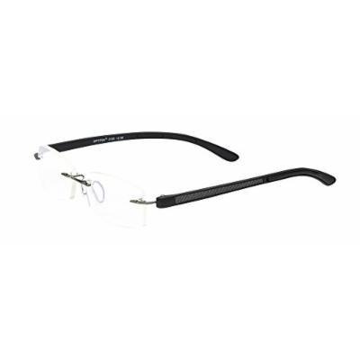 Select-A-Vision Unisex-Adult Optitek Computer Readers 2106BK-200 Rectangular Reading Glasses, black, 2