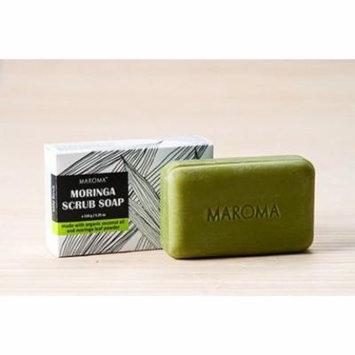 Moringa Scrub Soap Maroma 150 g Bar Soap