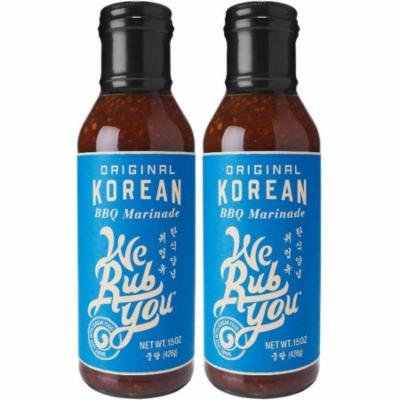 We Rub You- Original Korean BBQ Marinade, 2 Pack