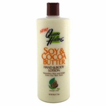 Queen Helene Lotion 32oz Soy & Cocoa Butter (6 Pack)