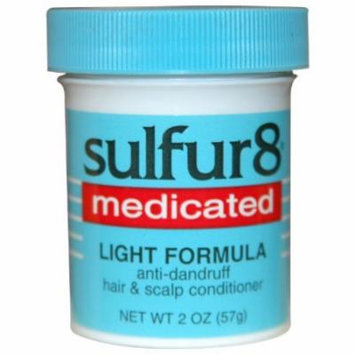 Sulfur-8 Hair and Scalp Conditioner - Light 2 oz. (Pack of 6)