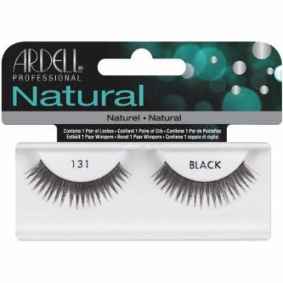 Ardell Fashion Lashes False Eyelashes - #131 Black (Pack of 2)