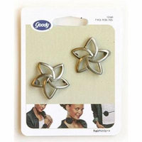 Goody Classics Star Shaped Jean Wires Hair Barrettes, 2 Count (Pack of 3)