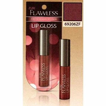 Zuri Flawless Lip Gloss - Misty Mauve (Pack of 6)