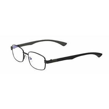 Select-A-Vision Unisex-Adult Optitek Computer Readers 2101BK-100 Round Reading Glasses, black, 1