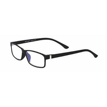 Select-A-Vision Unisex-Adult Optitek Computer Readers 2103BK-200 Rectangular Reading Glasses, black, 2