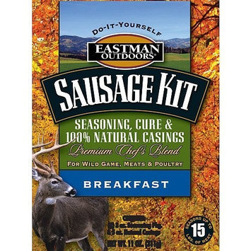Eastman Outdoors 38660 Breakfast Sausage Kit for Wild Game, Meats, and Poultry (Makes 15 Pounds, Includes Natural Sheep Casing) (Discontinued by Manufacturer)