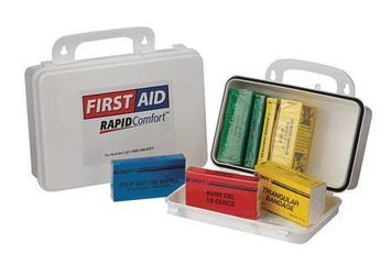 North By Honeywell First Aid Kit, Unitized, White,24Pcs,1 Ppl Model: 8L544