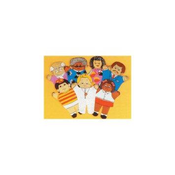 Dexter Educational Toys DEX810A Family 7 piece Puppet Set - Asian