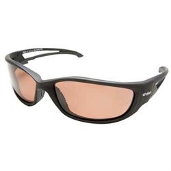 Wolf Peak International Edge TSK-XL215 Wolf Peak Kazbek XL Polarized Safety/SunGlasses, Black/Copper Lens